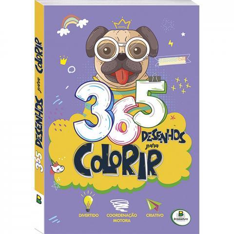 Livro 365 desenhos para colorir