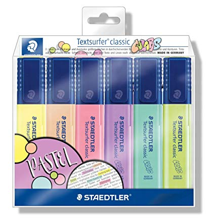 Marca Texto Staedtler Textsurfer Classic Pastel