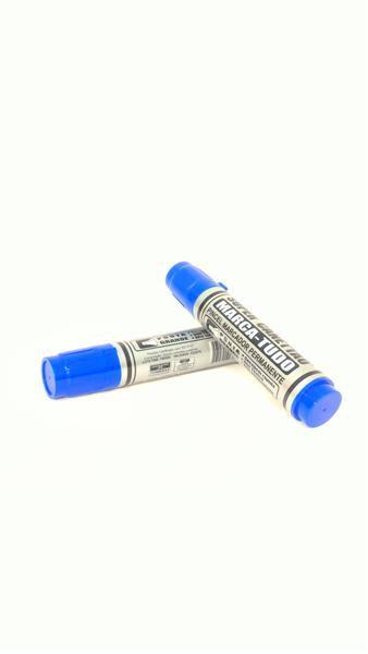 Marcador Permanente Radex - Azul