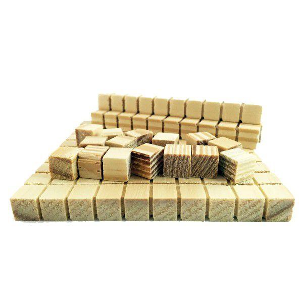 Material Dourado Individual Carimbras 111pcs Ref.0300-C