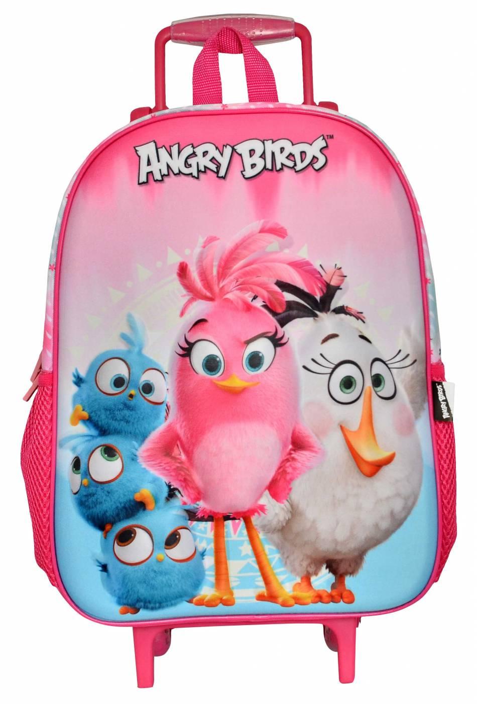 Mochila com carrinho Santino Angry Bird 801947