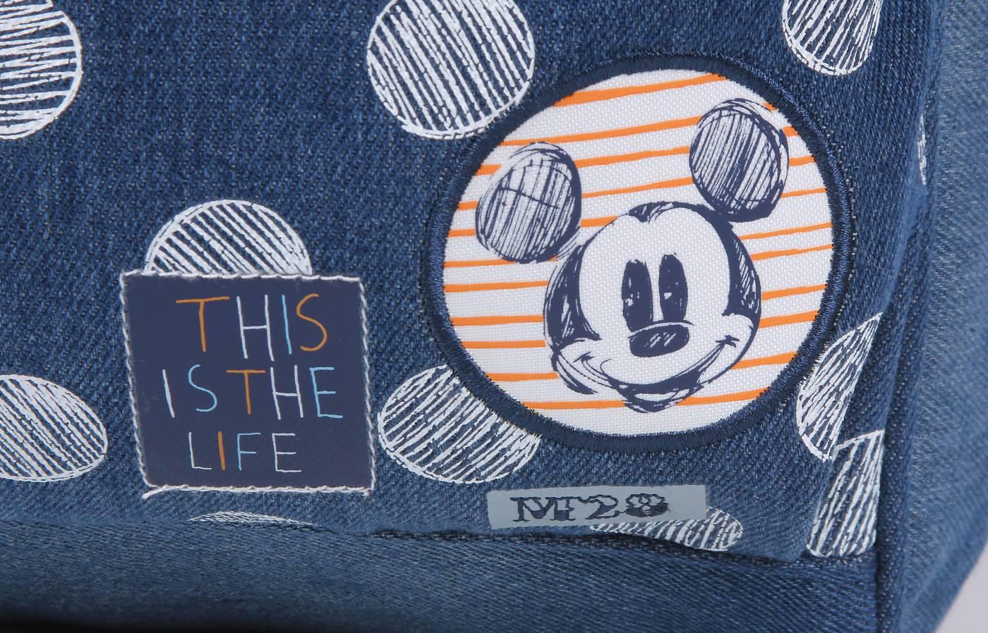 Mochila Dermiwil Mickey Jeans 51930