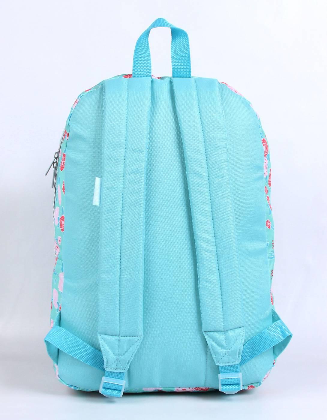 Mochila DMW Capricho Flor 11330 - Azul Claro
