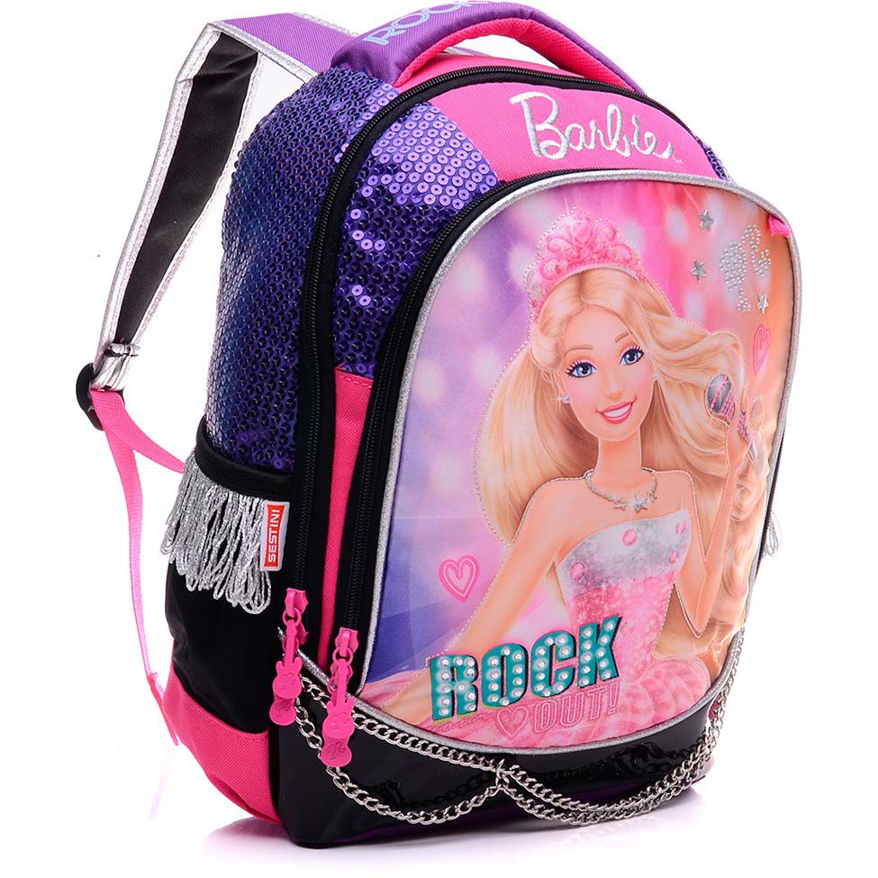 Mochila Grande Barbie Rock'n Royals 064345-48