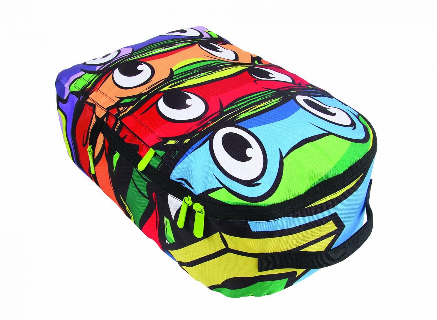 Mochila Grande DMW Tartarugas Ninjas 11233