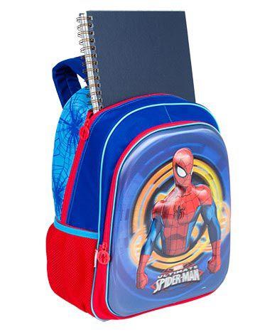 Mochila Grande Sestini 17X Spiderman 3D 064778