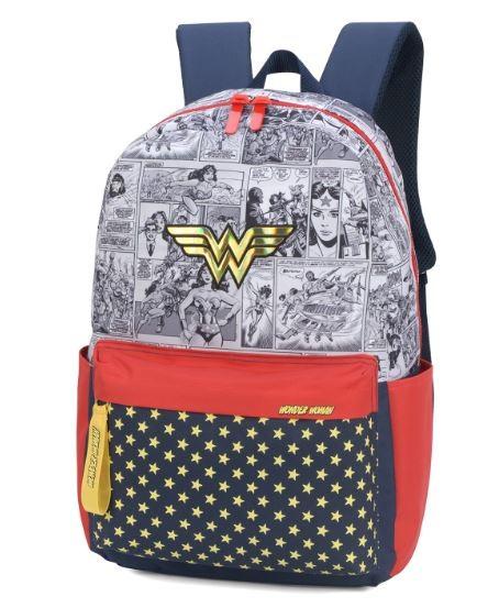 Mochila Luxcel Wonder Woman MS46030WW-AZ