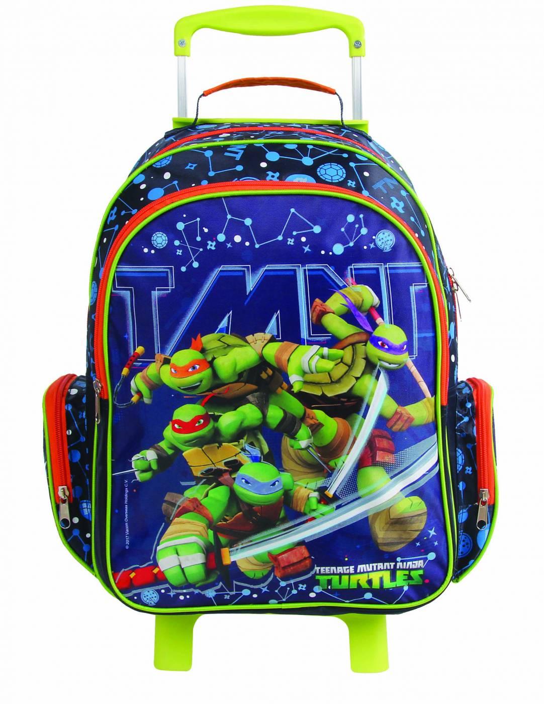Mochilete Grande DMW Tartarugas Ninjas 11232