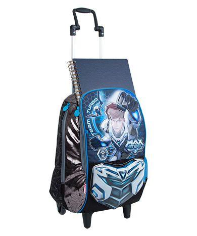 Mochilete Grande Max Steel 17Z 064602