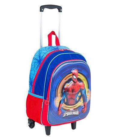 Mochilete Grande Sestini 17X Spiderman 3D 064777