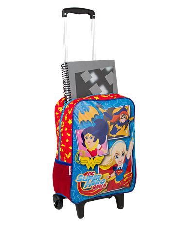 Mochilete Grande Super Hero Girls 17M 064561