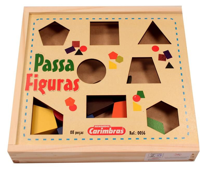Passa Figuras Carimbras Ref. 0056