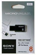 Pen Drive 8GB Flash USB Sony MicroVault USM8M2/B