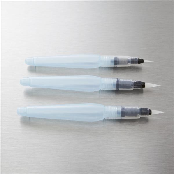 Pincel Aquash Brush Pentel ponta grossa XP/FRH-B GROSSA