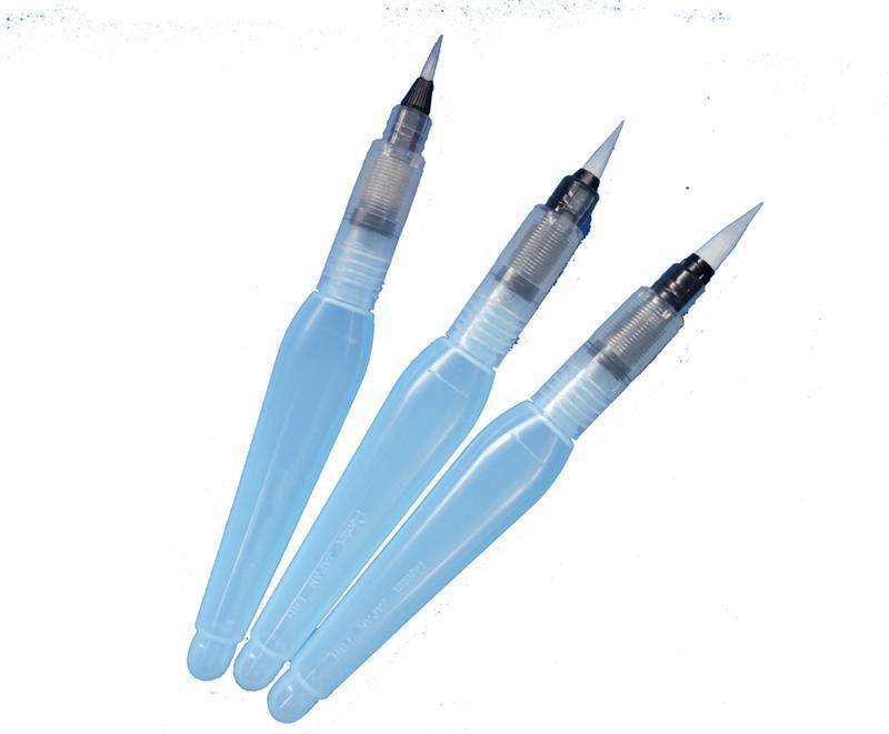 Pincel Aquash Brush Pentel ponta Média XP/FRH-M MÉDIA