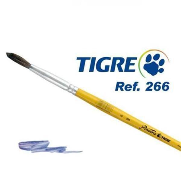Pincel Tigre Redondo 266-10 Ponei