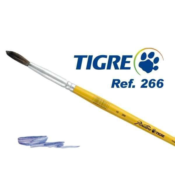 Pincel Tigre Redondo 266-12 Ponei