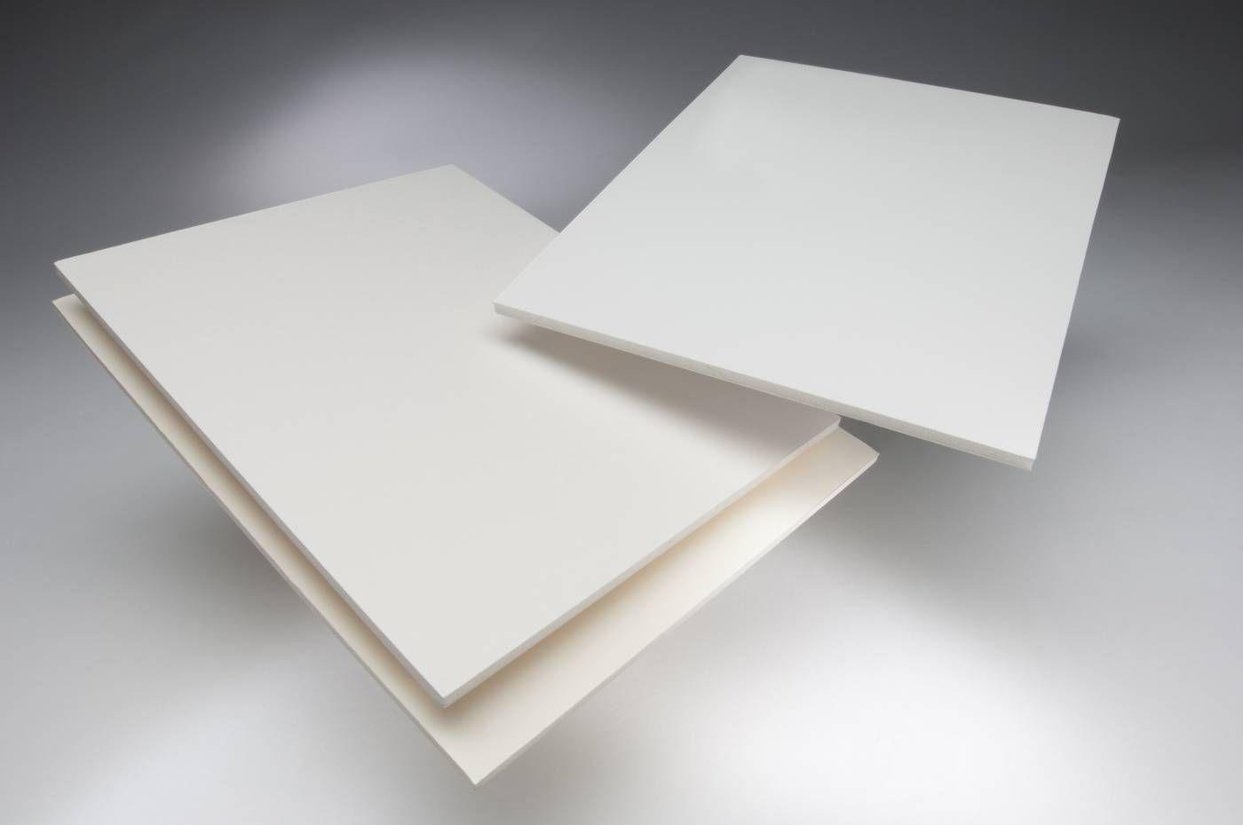 Placa Foam Board Paper A2 5 mm x 420 mm x 594 mm Pacote com 25 - Branca