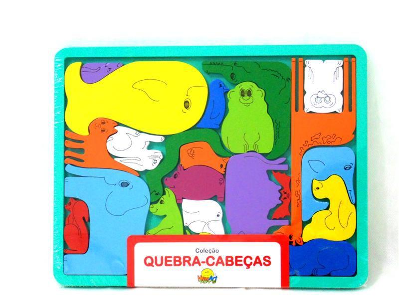 Quebra Cabeça Bicharada NewArt Toy's Ref. 303