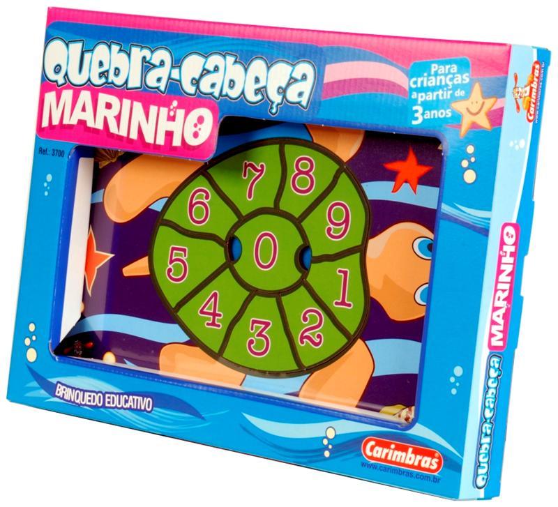 Quebra-Cabeça Marinho Carimbras Ref. 3700