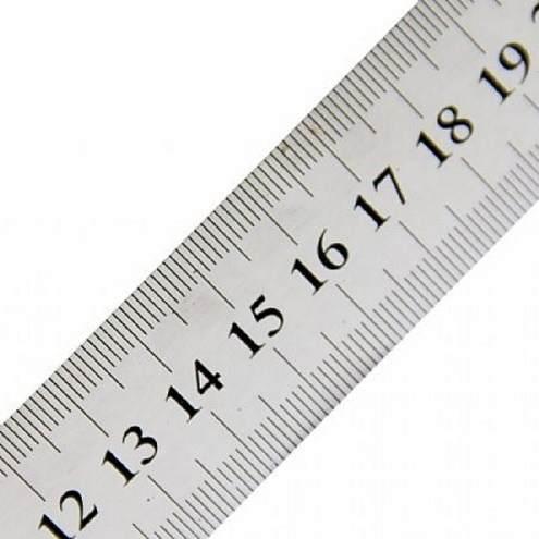 Régua de Aço 20 cm