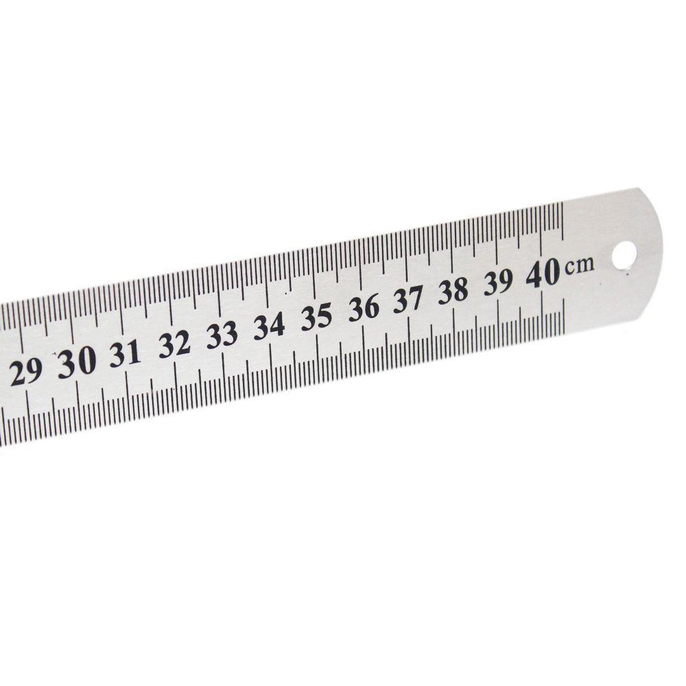Régua de Aço 40cm