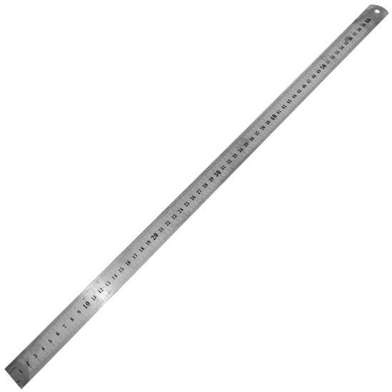 Régua de Aço 60cm