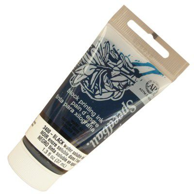 Tinta para Xilogravura Speedball 3400 Black 37 ml