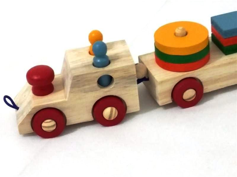 Trem de Encaixe Baby GR Brinquedos