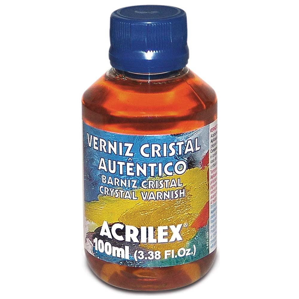 Verniz Cristal Autêntico Acrilex 100ml 16310