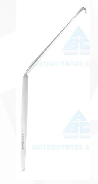 Afastador Love 45° Angulado Acotovelado para Cirurgia Geral - ABC INSTRUMENTO