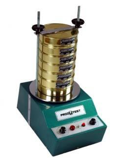 Agitador de Peneiras Timer digital até 99 hs Indicado para Produtos Secos. Granuteste