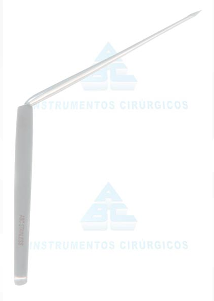 Agulha de Lucae Angulada para Paracentese 18cm - ABC INSTRUMENTO