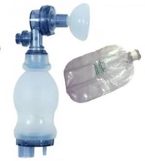 Ambú de silicone Neonatal ( com reservatório ).Protec