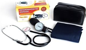 Aparelho de pressão ADULTO aneróide com Estetoscópio .Premium