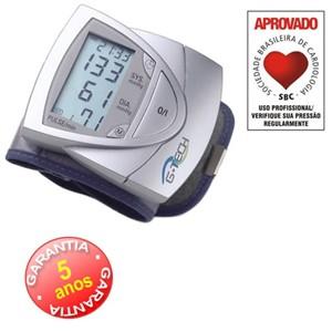 Aparelho Digital Automático de Pulso BP3AF1-3. G-tech