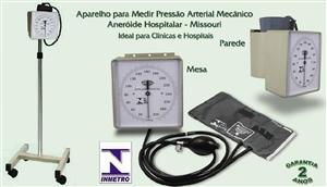 Aparelho para Medir Pressão Arterial Aneróide nos Modelos Rodizios, Mesa ou Parede - Missouri