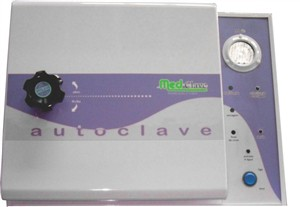 Autoclave horizontal Analogica reservatorio externo Esterelização e Secagem 21l Bivolt.Medclave