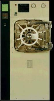 Autoclave horizontal com Barreira 2 portas 128 litros.Sl