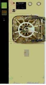 Autoclave horizontal com barreira (duas portas) possui impressora 522l.Sl