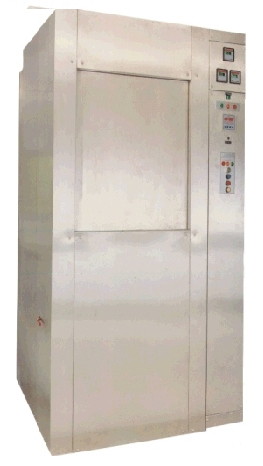 Autoclave hospitalar Vertical c/ barreira, abertura automática de portas osmose reversa 872.Sl