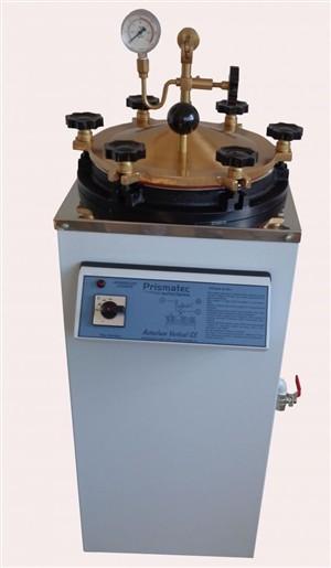 Autoclave Vertical Analogica a CS - Sem Pedal 30 Litros - Prismatec