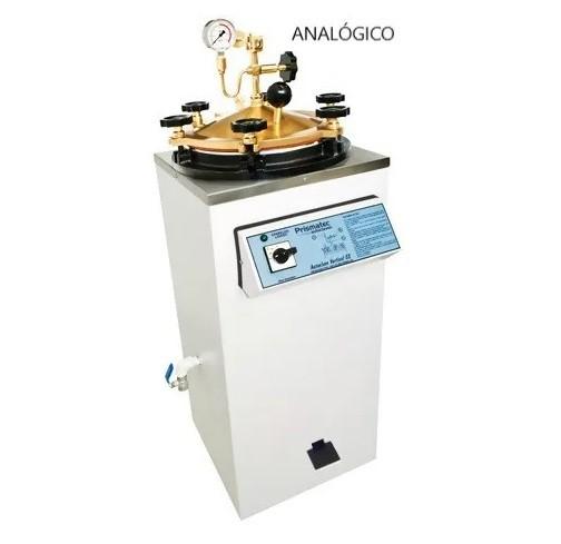 Autoclave Vertical Analogica CS - Com Pedal 100 Litros - Prismatec