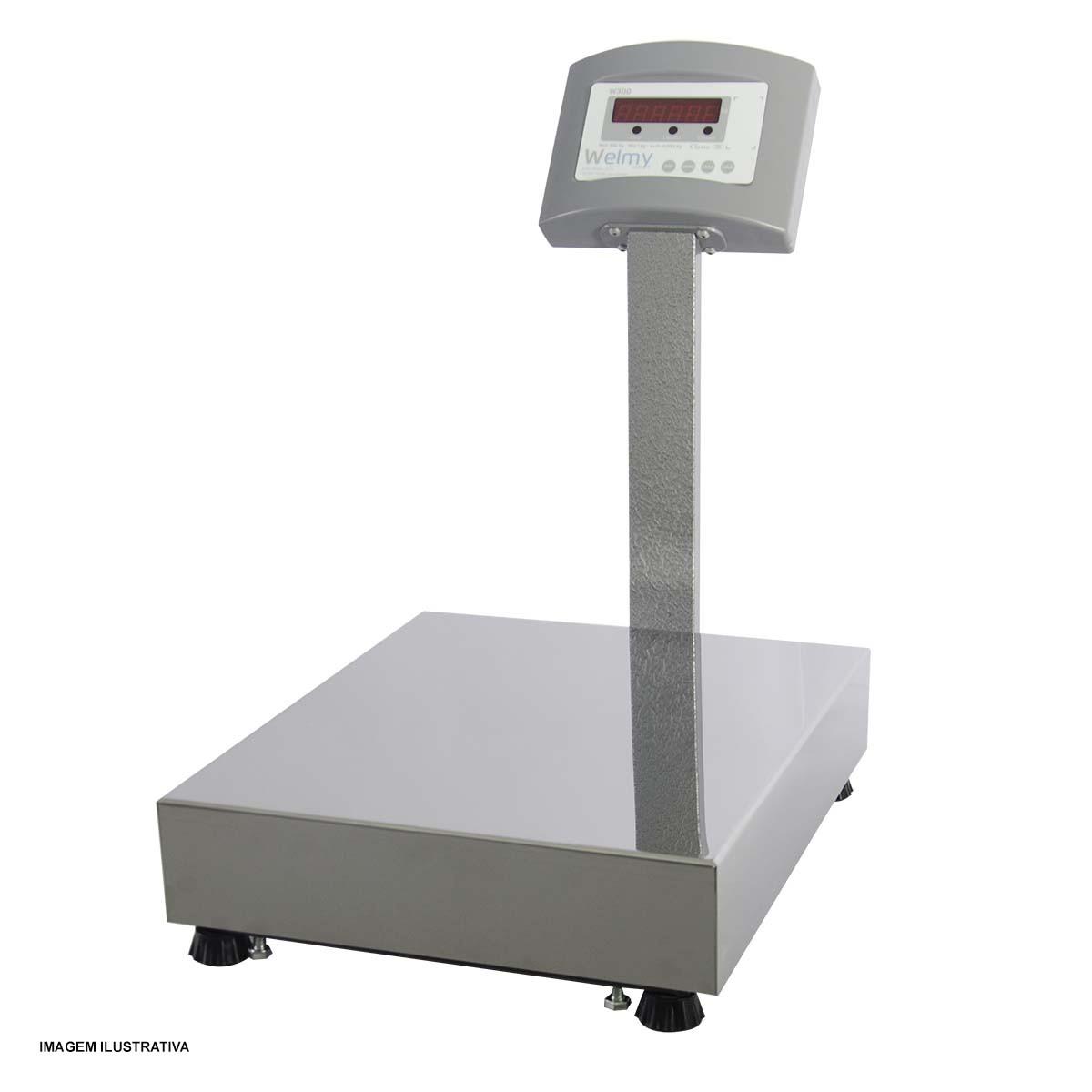 Balança Eletrônica 100Kg, 20g W100 Welmy