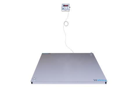 Balança Eletrônica  1000Kg, 200g Piso. Welmy