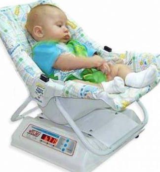 Balança Pediátrica Digital Cadeirinha para Bebê 15 kg divisões de 5g .Wy