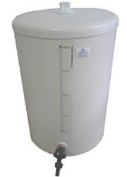Barrilete em PVC com Visor de Nível e Torneira (até 100 Litros).Ng