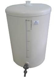 Barrilete em PVC com Visor de Nível e Torneira Capacidade 10 Litros.Ng