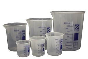 Becker em polipropileno (PP) Autoclavável até. 400 ml Subd 550 ml.Ngn