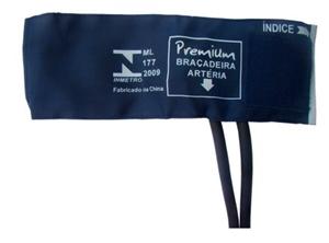 Braçadeira Neonatal Nylon Velcro 07cm a 13cm. Premium